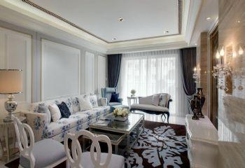 132平新古典设计案例古典客厅装修图片