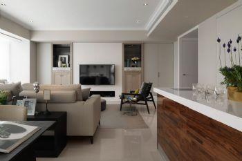 113平简约风格装修案例简约客厅装修图片