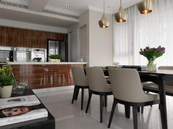 113平简约风格装修案例简约厨房装修图片