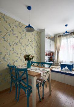 88平地中海演绎随意轻松生活地中海餐厅装修图片
