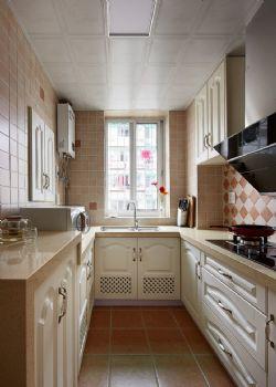 88平地中海演绎随意轻松生活地中海厨房装修图片