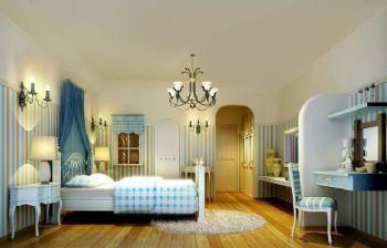最新地中海风格案例欣赏地中海卧室装修图片