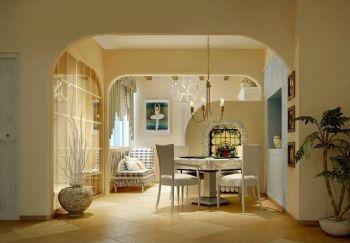 最新地中海风格案例欣赏地中海餐厅装修图片