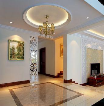 210平别墅简欧风格装修案例简约客厅装修图片