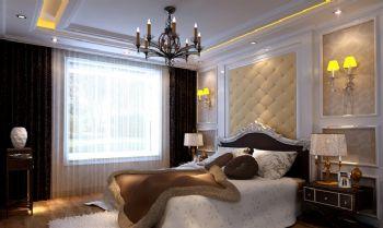 138平三居欧式古典风欧式卧室装修图片