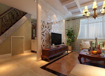 157平简欧风格案例欣赏简约客厅装修图片