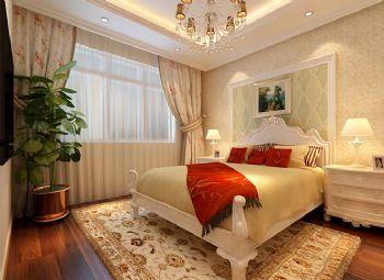 157平简欧风格案例欣赏简约卧室装修图片