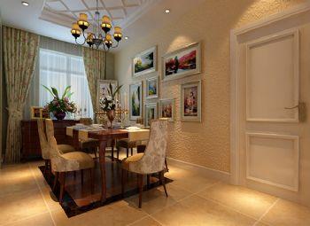 157平简欧风格案例欣赏简约餐厅装修图片