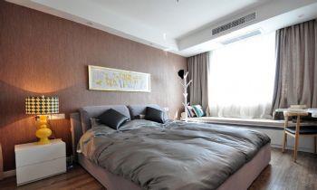 165平新中式风格案例欣赏中式卧室装修图片