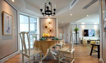 165平新中式风格案例欣赏中式餐厅装修图片