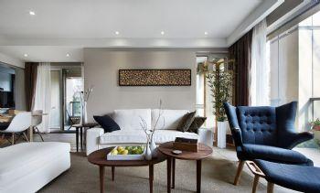 126平北欧温暖家居案例欧式客厅装修图片