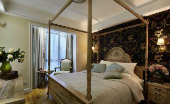 84平演绎华丽高贵温馨的浪漫主义混搭卧室装修图片