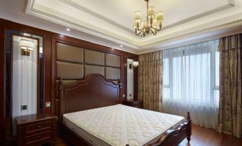 148平美式风格装修案例美式卧室装修图片