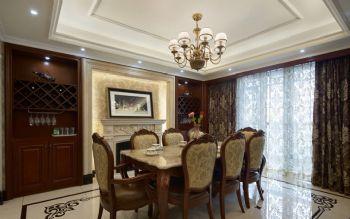 148平美式风格装修案例美式餐厅装修图片