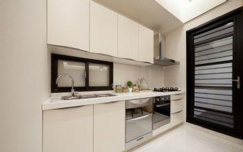 112平简约风格案例简约厨房装修图片