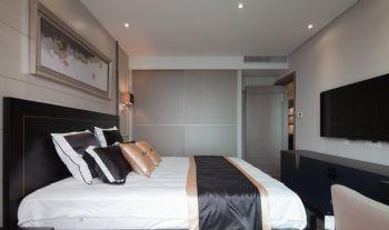 110平简约风格装修案例简约卧室装修图片