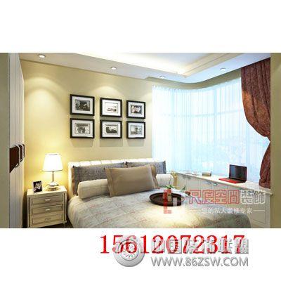 中式装修案例 卧室装修效果图 八六 中国 装饰联盟装修效果图库