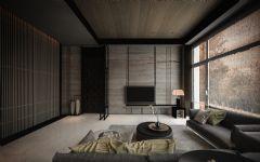 御香山现代简约风格回归自然现代客厅装修图片