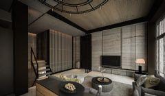 御香山现代简约风格回归自然现代阳台装修图片