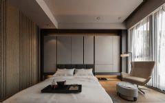 御香山现代简约风格回归自然现代卧室装修图片