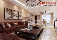 水映华庭刘姐现代简约客厅装修图片