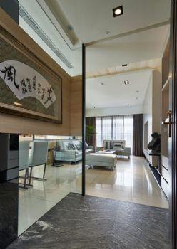 93平现代风格装修案例现代客厅装修图片