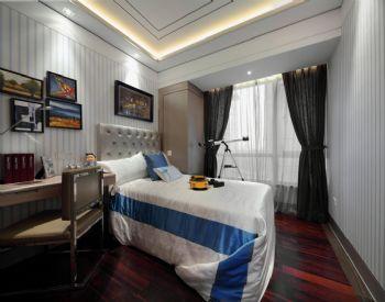 166平新古典风格装修案例古典卧室装修图片