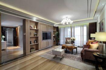 166平新古典风格装修案例古典客厅装修图片
