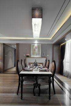 166平新古典风格装修案例古典餐厅装修图片