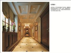 麓山翠云岭美式风格案例欣赏美式玄关装修图片