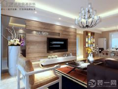 崇文广场现代客厅装修图片