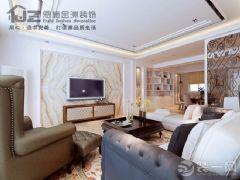 清江半岛欧式客厅装修图片