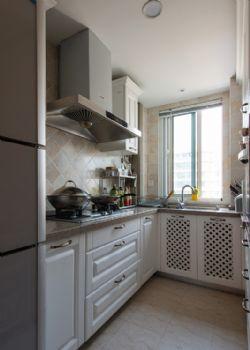 100平法式风格装修案例混搭厨房装修图片