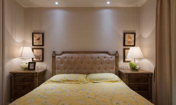 100平法式风格装修案例混搭卧室装修图片