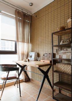 100平法式风格装修案例混搭书房装修图片