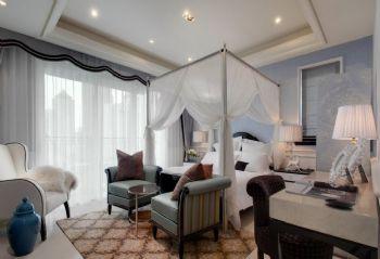 120平简欧风格装修案例简约卧室装修图片