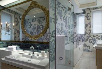 120平简欧风格装修案例简约卫生间装修图片
