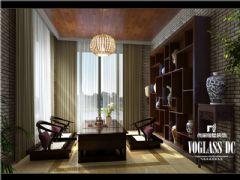麓山国际中式风格案例欣赏中式书房装修图片