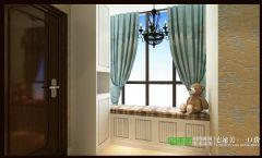 海顿公馆105平简欧风格三居室欧式过道装修图片