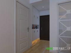 城市之光两室两厅87平现代风格现代玄关装修图片