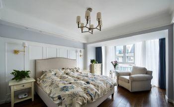 190平美式风格装修案例美式卧室装修图片