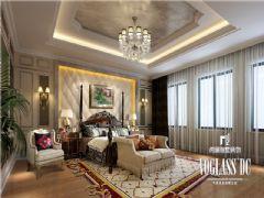 设计师推荐美城悦荣府欧式风格案例欧式卧室装修图片