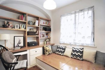 功能性与舒适性兼具的书房设计