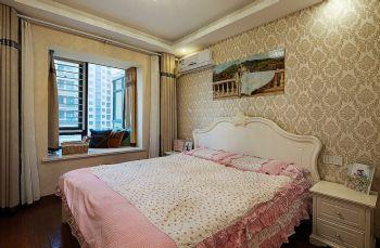 80平简约风格装修案例简约卧室装修图片