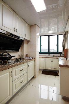 80平简约风格装修案例简约厨房装修图片