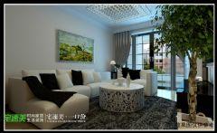 伟星幸福里106平三室两厅现代风格装修效果图现代风格三居室