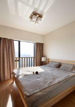125平简单装修中式复式装修效果图中式卧室装修图片