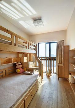 125平简单装修中式复式装修效果图中式儿童房装修图片
