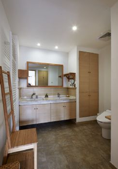 125平简单装修中式复式装修效果图中式卫生间装修图片