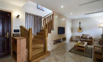 125平简单装修中式复式装修效果图中式客厅装修图片